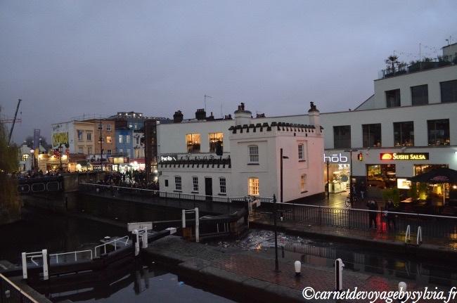 Les canaux de Camden Londres