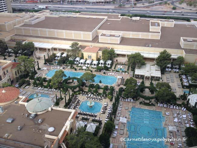 les piscines du Bellagio