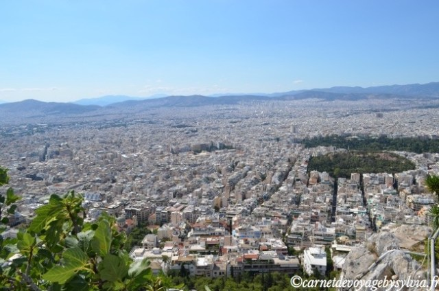 vue depuis la colline