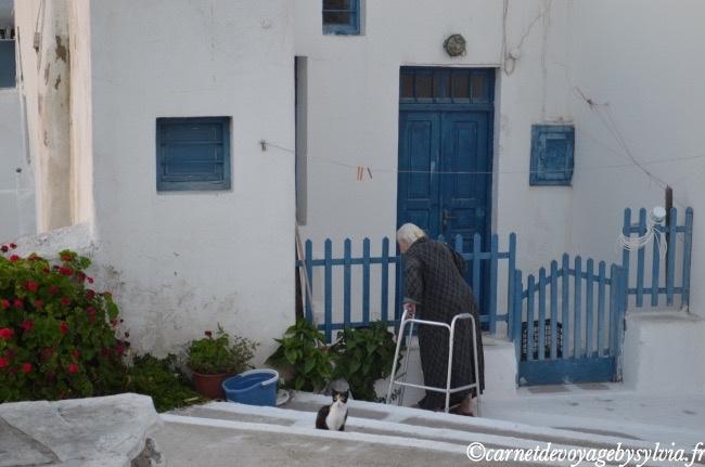 les habitants de Mykonos