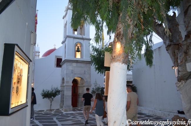 les ruelles de Mykonos