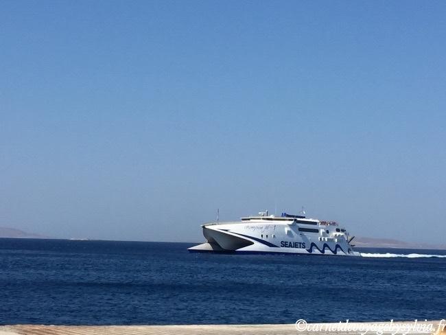 Réservation bateau santorin