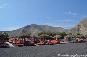 Les plus belles plages de Santorin et ses sources d'eau chaude