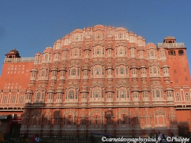 Palais des vents à Jaipur.