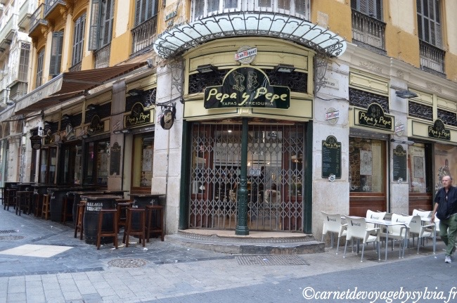 rue dans Malaga