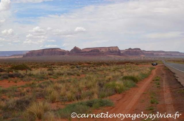 Monument Valley sur la Highway