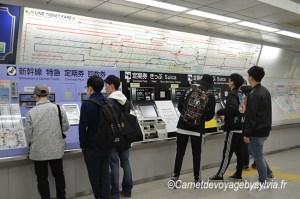 Comment prendre le métro à Tokyo ?