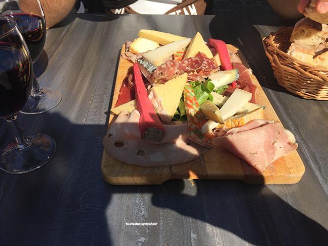 Plateau de fromages pour deux personnes