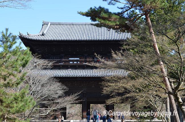 Nanzenji ou le complexe de plusieurs temples