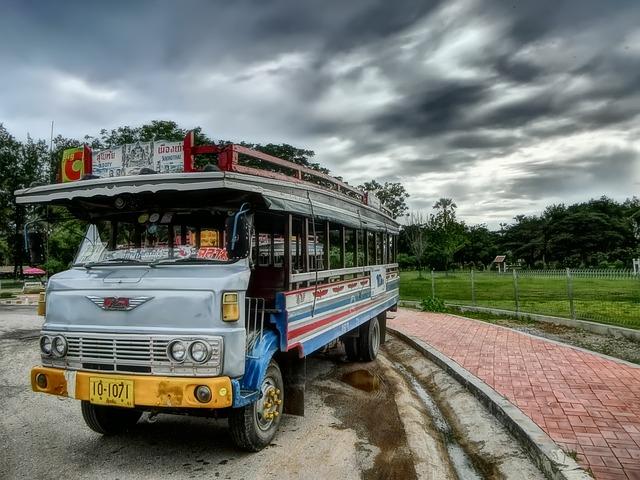 Top 3 des arnaques en bus en Thaïlande