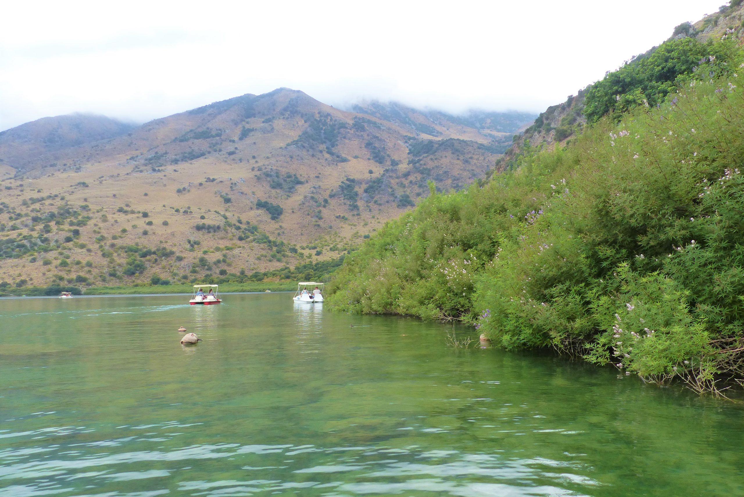 Georgioúpoli et le Lac de Kournás