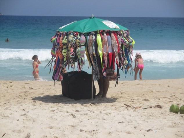 vendeur plage maillots de bain Ipanema