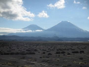 Les volcans jumeaux Payachata
