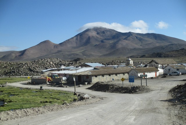 le village de Parinacota