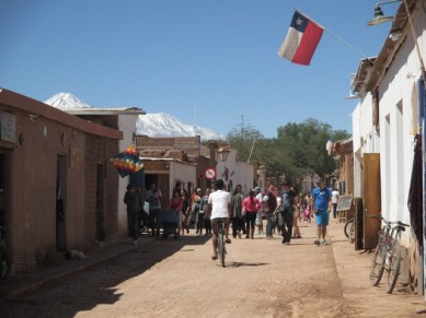 Rue principale de San Pedro de Atacama