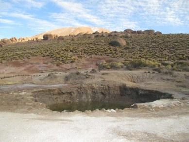 Une piscine toxique geysers El tatio