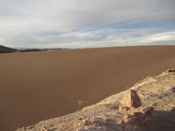 dune de sable vallée de la lune