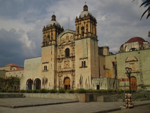 La cathédrale de Oaxaca