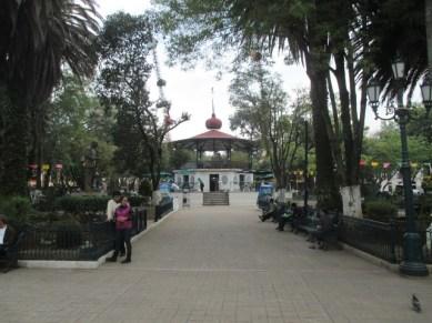 kiosque du zocalo San cristobal de las casas