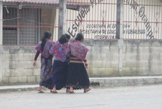 Jeune femmes de Zinacantán