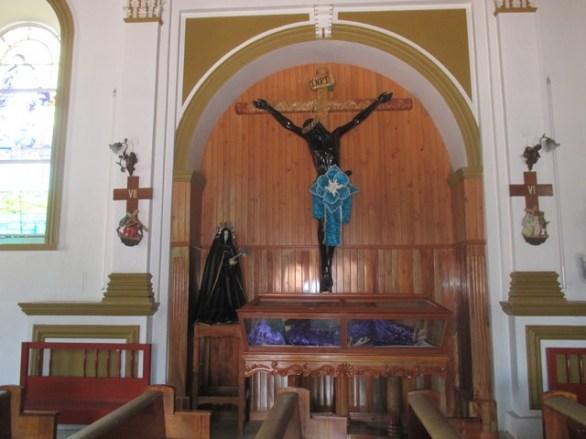 Christ dans l'église du Cerro de Guadalupe San Cristobal de las casas