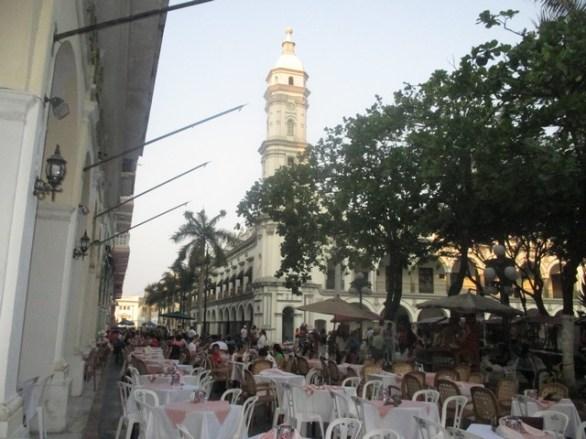 terrasses du zocalo Veracruz