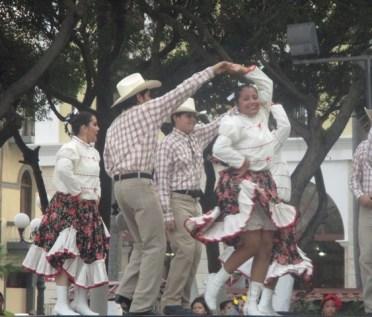 danseurs sur le zocalo Veracruz
