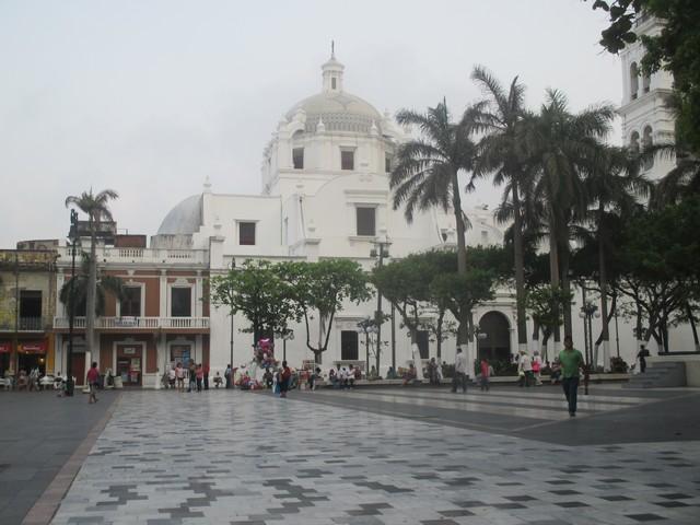 Cathédrale sur le zocalo Veracruz