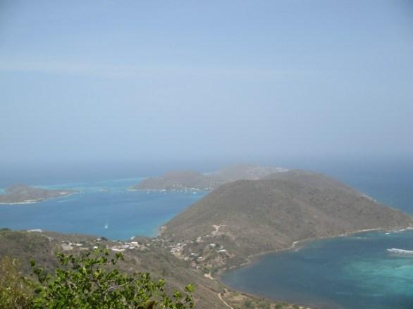 Vue sur le Nord de l'île