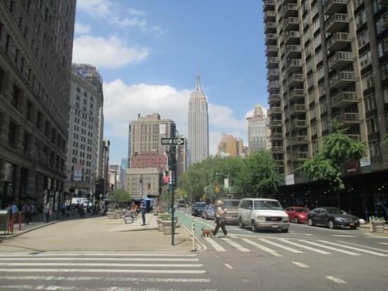 Vue sur Empire State Building