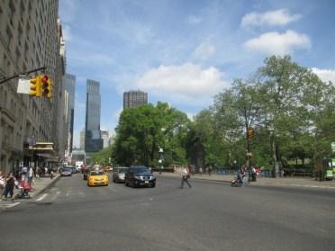 Entrée de Central Park