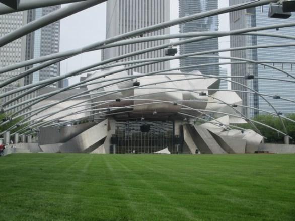 espace concert Millenium Park