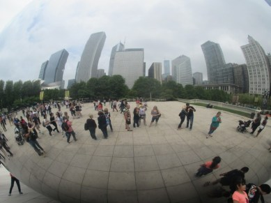Le Cloud Gate Chicago