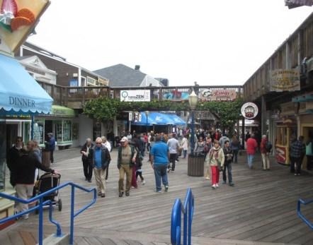 Pier 39 Fisherman Wharf