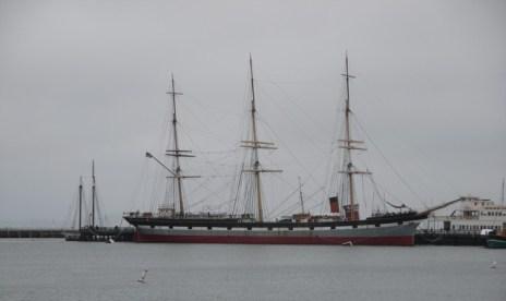 Bateau Port historique Fisherman Wharf