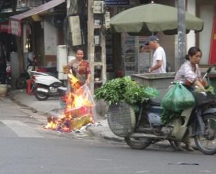 Scène de rue hanoi