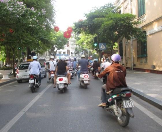 scooters Hanoi