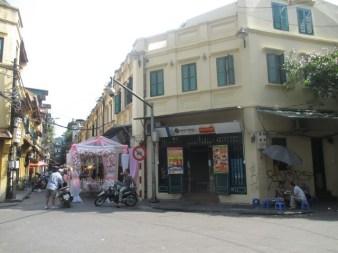 Rue du vieux quartier Hanoi