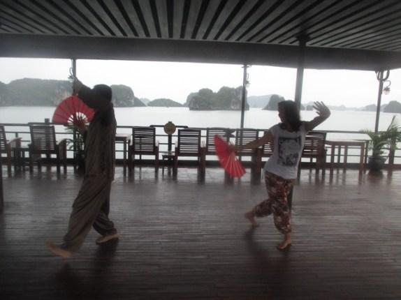 Tai Chi à Halong Bay