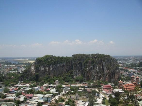 Vue sur le village de Non Nuoc