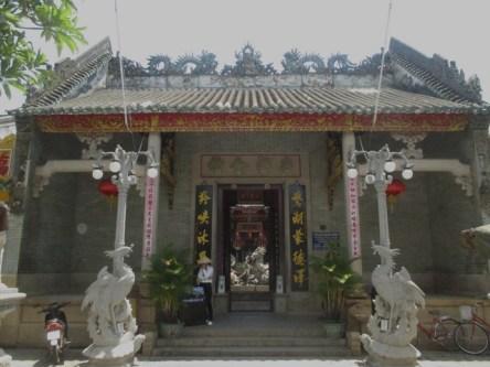 salle d'assemblée Hội Quán Quảng Triệu