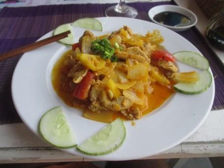 porc à la sauce aigre-douce restaurant enjoy Hoi An