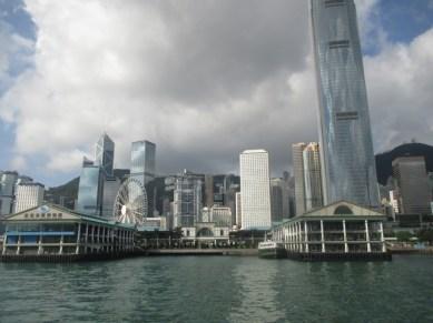 vue sur le départ des ferrys