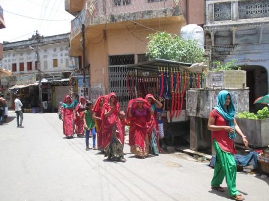femmes de Pushkar