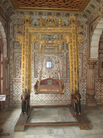 chambre royale Fort Junagarh