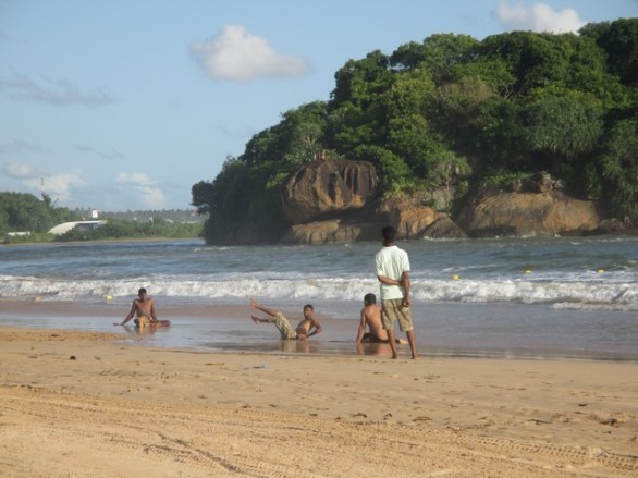 plage de Beruwela Sri Lanka