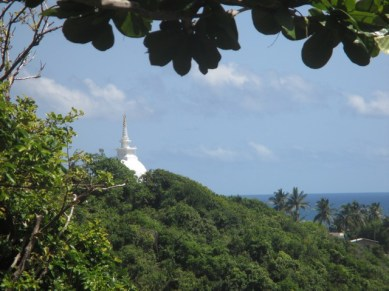 temple bouddhiste Jungle bay Sri Lanka