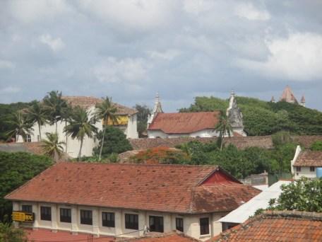 vue depuis le fort de Galle