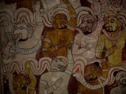 fresques Rock temple