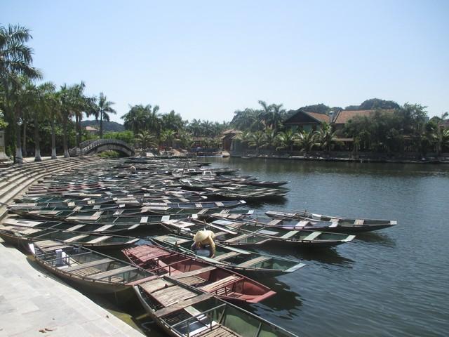 embarcadère Tam Coc